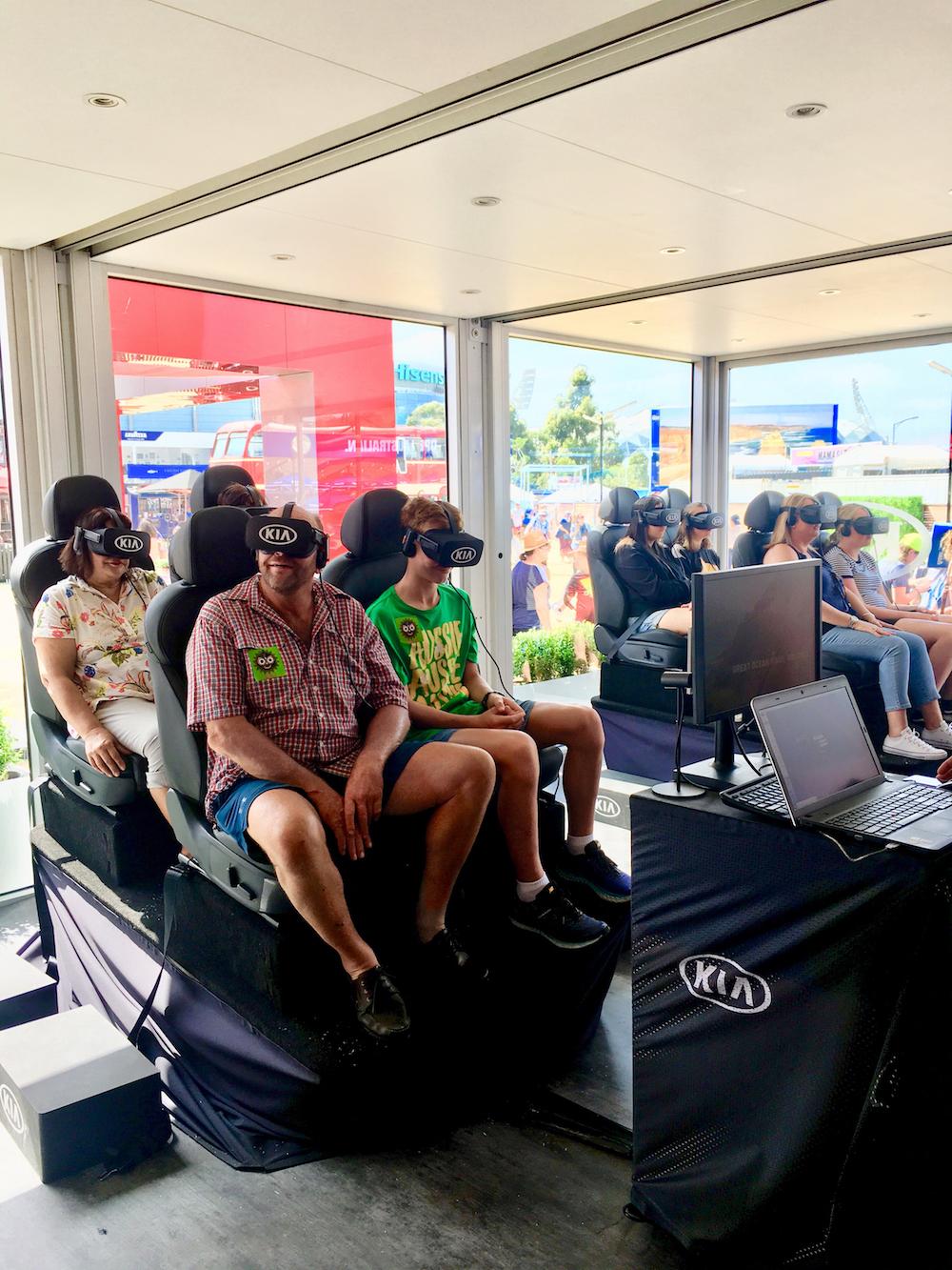 Kia Stinger VR Australian Open V3