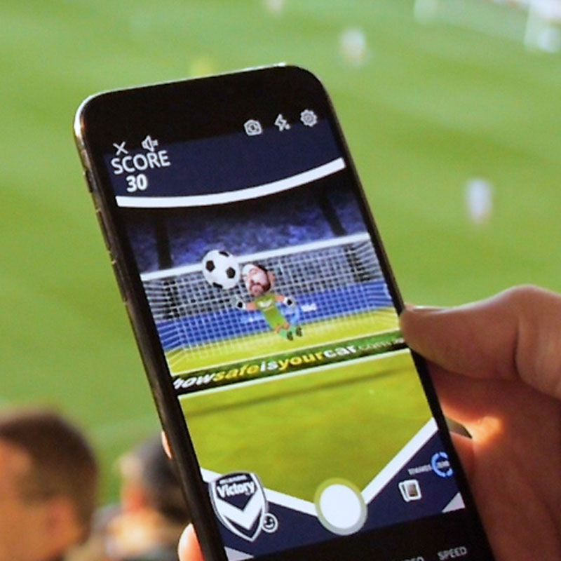 94e58f16e552 Melbourne Victory Augmented Reality Fan Engagement - CATALYST VR